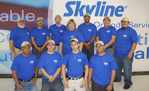 Skyline Service Centers offer rental exhibits, graphics and expanded services in major venue cities: Las Vegas, Orlando, Chicago, Toronto and Shanghai.  So you can rent local and save on shipping at major trade shows.